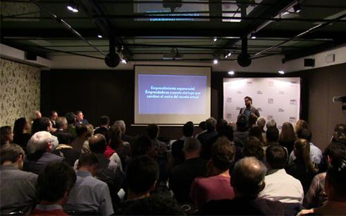 Presentación del ICEB en Barcelona