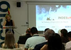 Presentación de INDESUP!, programa para emprendedores deportivos.