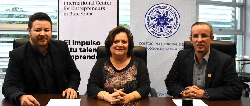 Acuerdo con el Colegio de Psicólogos de Costa Rica