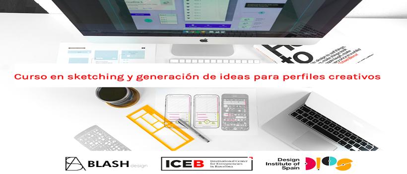 Primera edición del Curso de sketching y generación de ideas para perfiles creativos.