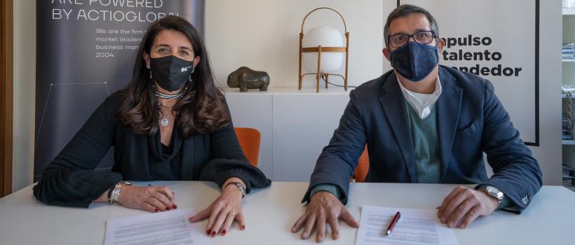 ICEB y ActioGlobal firman una alianza estratégica para impulsar el tejido empresarial a través de la capacitación en Agile, Digitalización y Alto Rendimiento.