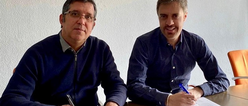 Firman acuerdo de cooperación el ICEB y el Design Institute of Spain (DIOS)