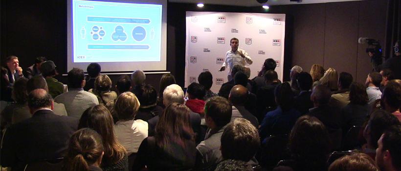 Presentación Centro Internacional para Emprendedores en Barcelona