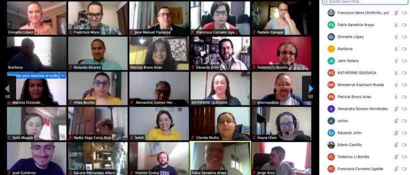 """Conferencia Magistral impartida por el Dr. Jose Manuel Figueroa Gonzalez """"Aspectos Básicos para una Gestión Exitosa de equipos de trabajo Virtual""""."""